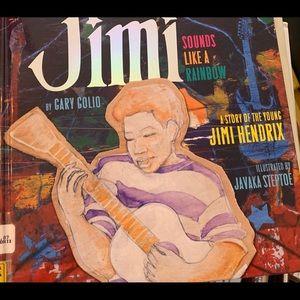 Jimi (Hendrix) sounds like a rainbow book
